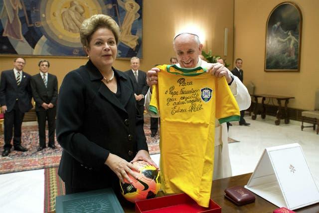 El Papa Francisco visitó Río de Janeiro en 2013