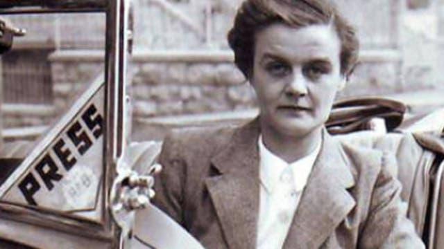 Retrato de la reportera de guerra, Clare Hollingworth