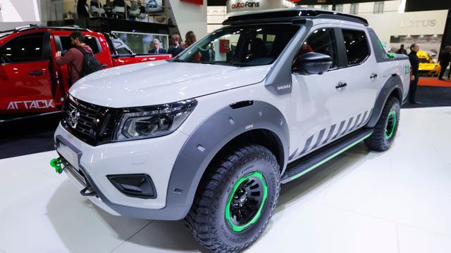 La pick-up Nissan Navarra EnGuard.