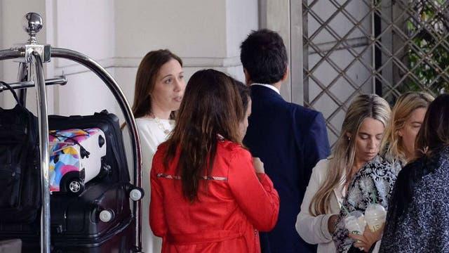 Vidal y Massa se reunieron en el Four Seasons