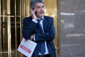 Juan Vasco Martínez, de ASU, a la salida de la reunión con Moreno