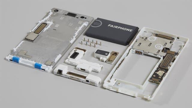Un smartphone por dentro; en este caso, un Fairphone