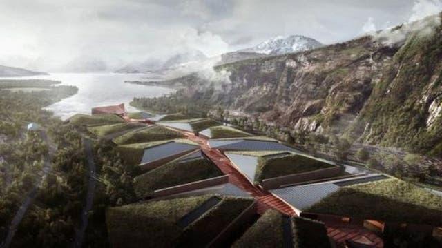 El agua de fiordos cercanos será utilizada para mantener fría la temperatura en el interior del centro