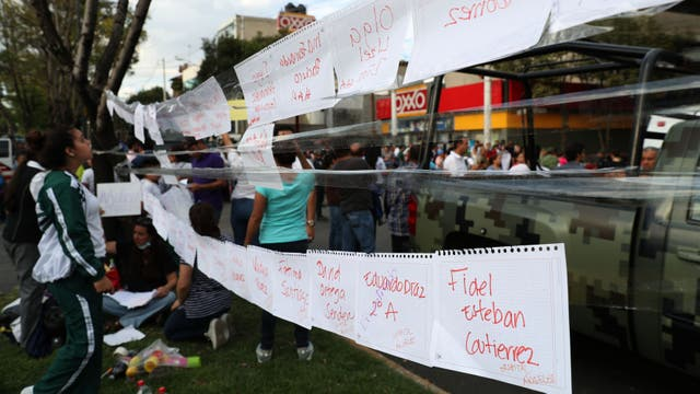 """Terremoto en México: advierten que hay """"varios"""" argentinos con los que no se pudo restablecer contacto"""