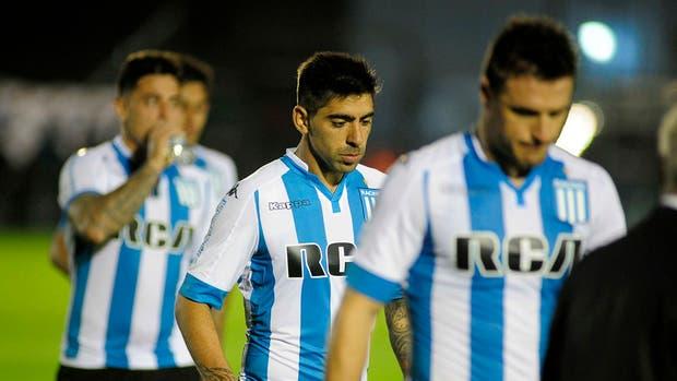 La desazón de Racing de Diego González, Gastón Díaz e Ivan Pillud