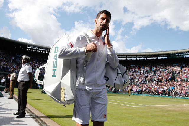 Novak Djokovic tuvo un temprano adiós en Wimbledon