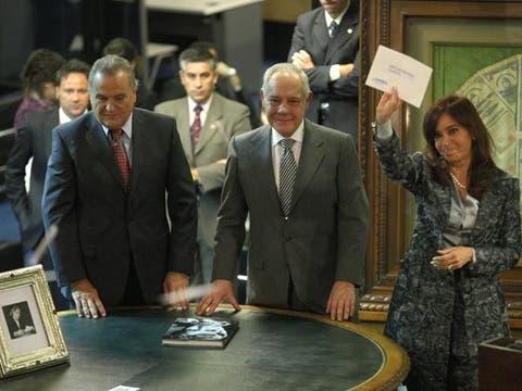 Un anuncio en época de elecciones. Foto: LA NACION / Fabián Marelli