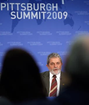 Lula da Silva, ante sus colegas.. Foto: EFE