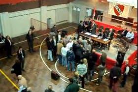 Incidentes en la Asamblea en Independiente