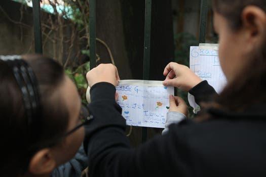 Muchos adolescentes se mezclaban entre los que asistieron a despedir a Sabato. Foto: LA NACION / Soledad Aznarez