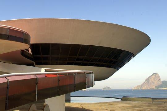 Vista del Museo de Arte Contemporáneo en Niteroi, cerca de Río de Janeiro. Foto: Archivo