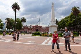 Se trata del primer monumento emplazado en Buenos Aires