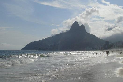 Ipanema, en Brasil, competía en el premio World Travel Awards 2013. Foto: Sol Amaya