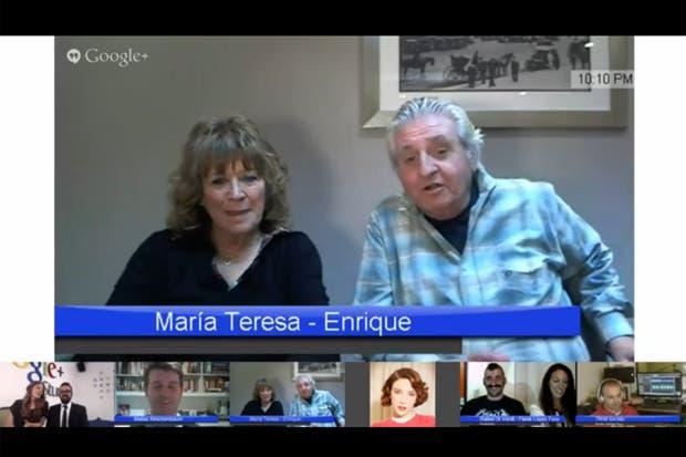 Todos los protagonistas de la historia de María Teresa y Enrique por primera vez
