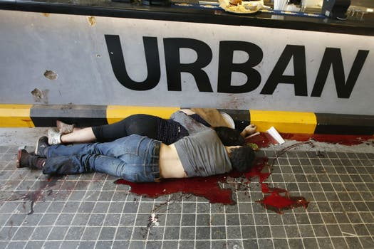 Hay al menos 59 muertos. Foto: Reuters