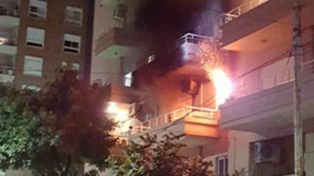 El hecho ocurrió anoche en un edificio en Salvador María del Carril y Cuenca
