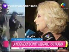 Mirtha Legrand culpa al Kirchnerismo
