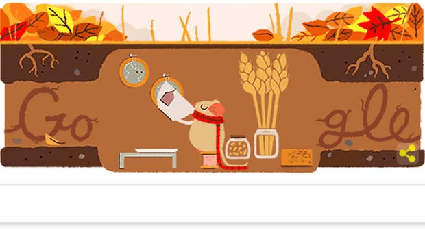 Google conmemora el equinoccio de otoño