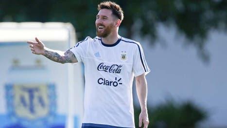 Lionel Messi, optimista al menos en su lenguaje corporal