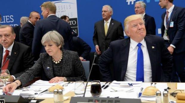 En las últimas semanas la alianza trasatlántica de Estados Unidos con el Reino Unido se muestra tambaleante
