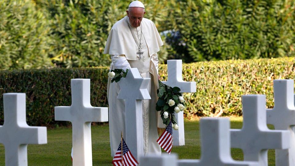 El Papa pidió por el fin de las guerras