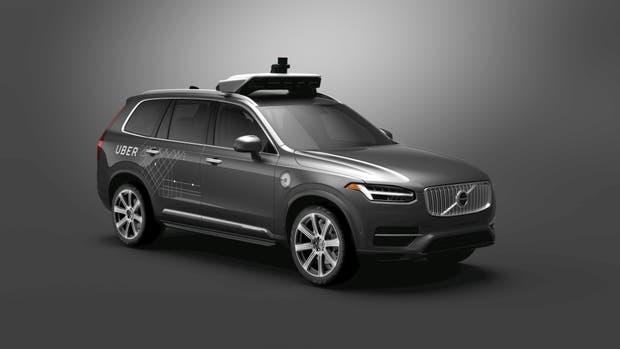 Volvo XC90 con el sistema autónomo Uber