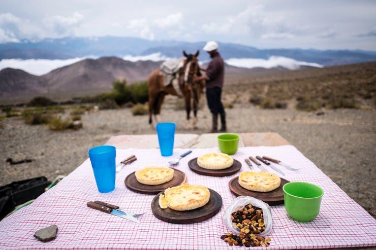 Picnic en las cabalgatas de Casa Colorada. Autor: Federico Quintana