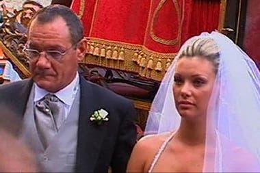 Tamara y su padre Massimo, asesinado en un ajuste de cuentas