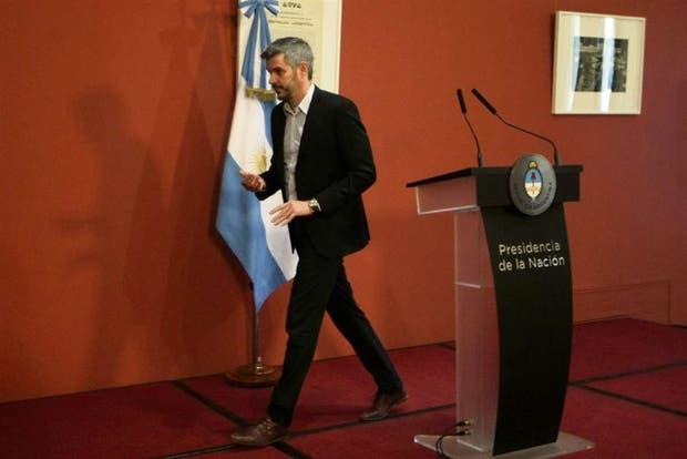 El jefe de Gabinete, Marcos Peña, comunicó la delegación y confirmó que se eliminarán dependencias del Estado