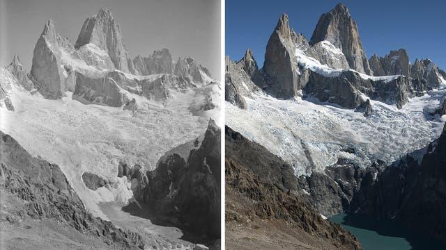El Monte Fitz Roy, en el sur de la Patagonia