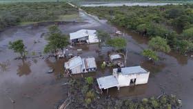 Se avanzó en la puesta en marcha de las obras en todas las zonas inundadas de Córdoba, Santa Fe, La Pampa y Buenos Aires