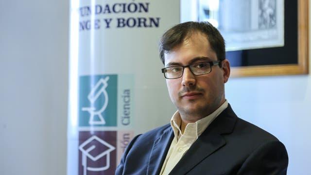 Martín Ezcurra, joven y prolífico investigador