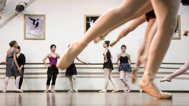 En la danza cada una trabaja con los límites de su propio cuerpo
