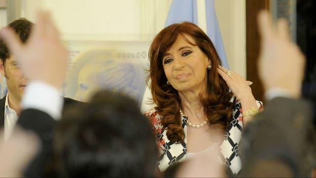 Cristina denunció campaña