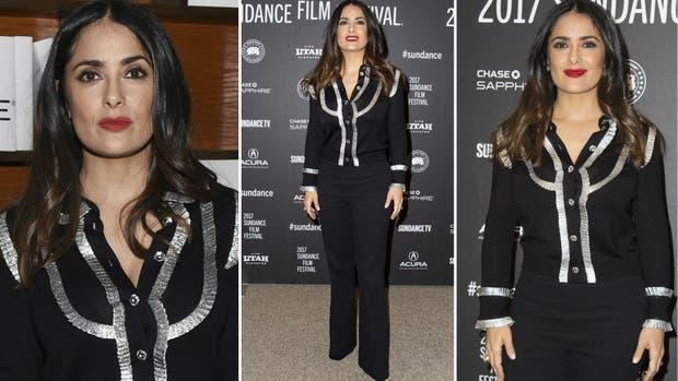 ¿Qué opinan del look de Salma Hayek?