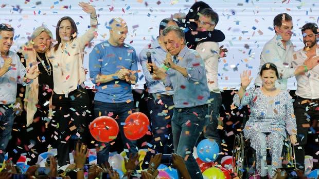 El frente Cambiemos, el gran ganador de la noche del 22 de octubre