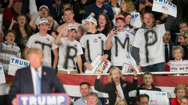 Trump no ha hecho más que ganar seguidores, pese a los esfuerzos de parte del Partido Republicano