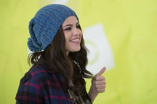 Selena Gomez, modelo de la línea NEO. Foto: AFP