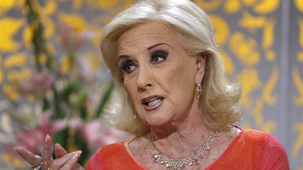 Mirtha Legrand calificó con un 5 a Macri: