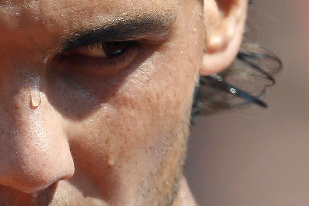 Porque de última tengo esta genial de Rafa....  Foto:AFP
