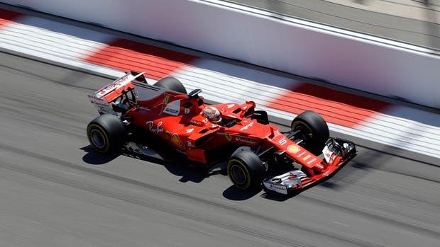 Vettel se quedó con la pole position