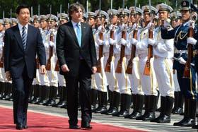 Tras su gira por China, en Beijing