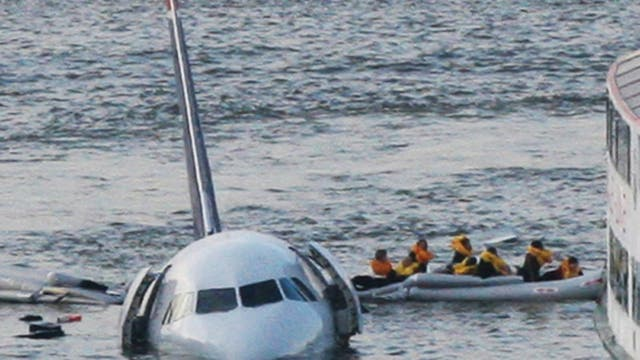 El accidente aéreo de la aeronave 1549 de US Airways que aterrizó en el Río Hudson
