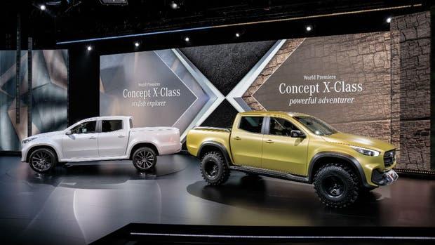 Resultado de imagen para pick-up Clase X que Mercedes-Benz fabricará