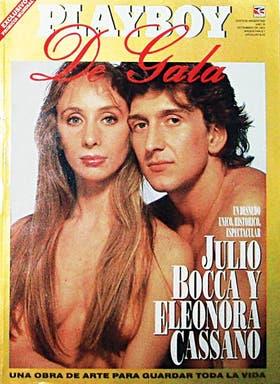 En 1993, Julio y Eleonora posan en el estudio del fotógrafo Jack Mitchell, en Nueva York, para una edición especial de Playboy. Se manejaron muy libremente, recuerda Renata Schussheim, testigo de la sesión