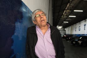 El líder de la CGT disidente, Hugo Moyano, duro con la Casa Rosada