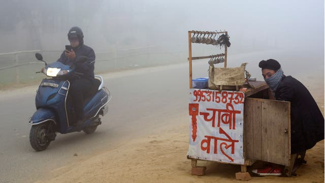 Delhi, la ciudad india azotada por una nube de smog que no deja respirar