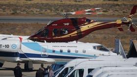 Macri estuvo en la estancia del inglés Joseph Lewis en el lago Escondido y usó su helicóptero
