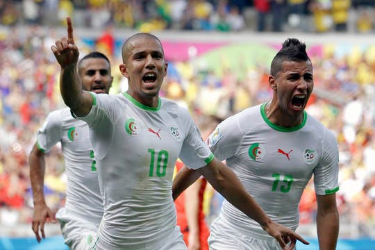 Argelia hace historia. Foto: AP