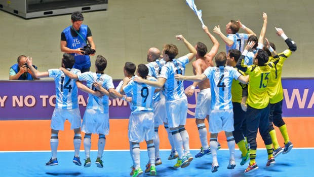 Resultado de imagen para Argentina ante Rusia mundial fut sal